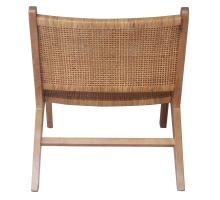 Delroy Webbing Rattan Accent Chair, Canary Brown *NEW*/2400040-CB