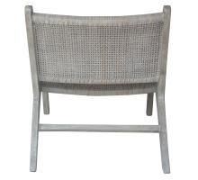 Delroy Webbing Rattan Accent Chair, Gray *NEW*/2400040-G