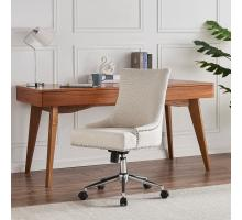 Charlotte KD Fabric Office Chair, Cardiff Cream *NEW*/1900165-276