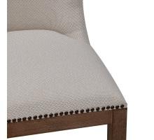 Dorsey Fabric Chair Drift Wood Legs, Cardiff Cream *NEW*/3900066-276
