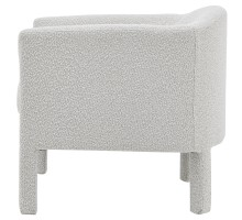 Jennifer Fabric Accent Arm Chair, Boucle Beige*NEW*/1900171-563