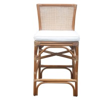 Tatum Rattan Counter Stool, Canary Brown*NEW*/2400044