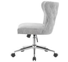 Hazel KD Fabric Office Chair, Smash Gray*NEW*/1900170-561