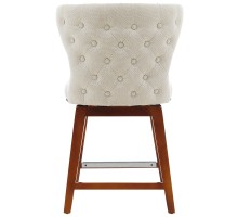 Hazel KD Fabric Swivel Counter Stool, Cardiff Cream*NEW*/1900162-276