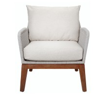 Matisse Rope Accent Arm Chair, Gray *NEW*/7400055