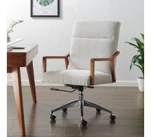 Kendrick KD Fabric Office Chair, Boucle Beige*NEW*/1250021-563