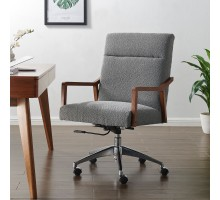 Kendrick KD Fabric Office Chair, Boucle Gray*NEW*/1250021-564